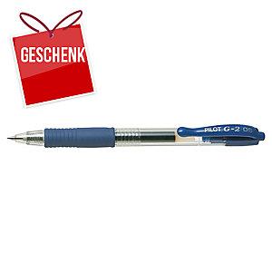 Pilot G2 Druckgelschreiber blau, Spitzenstärke: 0,5 mm