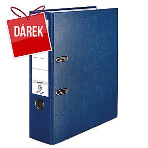 Pákový pořadač Herlitz Q.file, A4, šířka hřbetu 8 cm, modrý