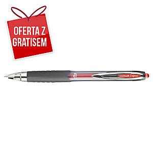 Automatyczny długopis żelowy UNI UMN-207 Signo, czerwony