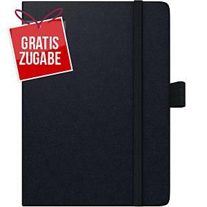 Taschenkalender 2020 Brunnen 73666 Kompagnon, 1 Tag / 1 Seite, 10x14cm, schwarz