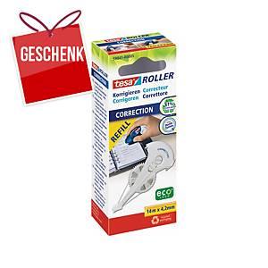 Nachfüllkassette Tesa 59841, Breite: 4,2mm, für Korrekturroller tesa 59840