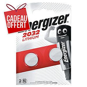 Pack de 2 piles lithium Energizer CR2032