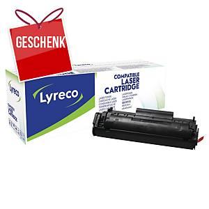 LYRECO komp. Lasertoner HP 12A (Q2612A)/ CANON CRG-703 (7616A005) schwarz
