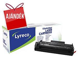 Lyreco kompatibilis toner HP 12A (Q2612A)/Canon CRG703 (7616A005), fekete