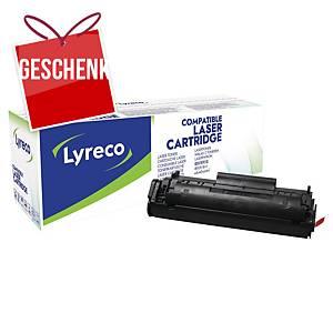 Lyreco komp. Toner HP 12A (Q2612A)/Canon CRG703 (7616A005), schwarz