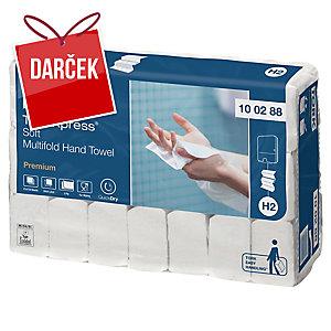 Skladané utierky Tork Premium 100288, 21 balení po 110 kusov