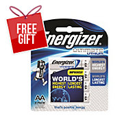 ENERGIZER ULTIMATE LITHIUM AA BATTERY - PACK OF 4