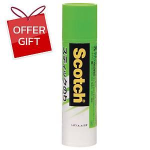 SCOTCH 6025 Permanent Adhesive Glue Stick 25 Grams