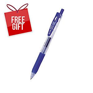 Zebra Sarasa Retractable Gel Pen 0.5mm Blue