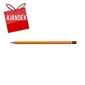 Koh-i-noor ceruza, 2B, lakkozott, 12 db/csomag