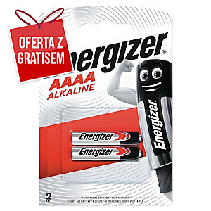 Baterie specjalistyczne ENERGIZER® AAAA 1,5V, w opakowaniu 2 sztuki