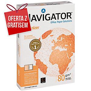 Papier NAVIGATOR Organizer z 4 dziurkami A4, 80g/m², 500 arkuszy