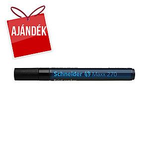 Schneider 270 lakkmarker, gömbölyű hegy, fekete