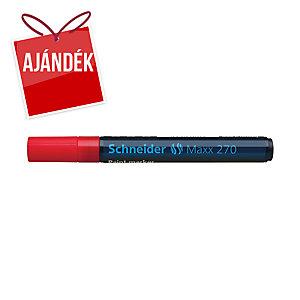 Schneider 270 lakkmarker, gömbölyű hegy, piros