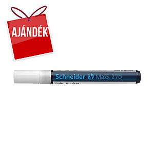 Schneider 270 lakkmarker, gömbölyű hegy, fehér