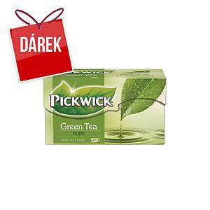 Čaj Pickwick zelený, 20 porcí à 1,5 g
