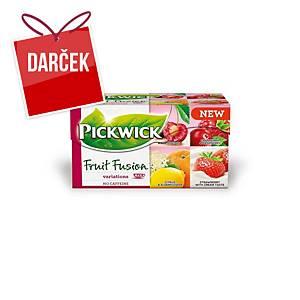Čaj Pickwick ovocné variácie, balenie 20 porcií à 2 g
