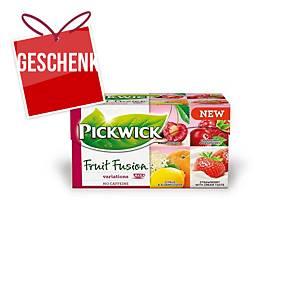 Pickwick Tee, Fruchtvariationen, 20 Beutel, á 2 g