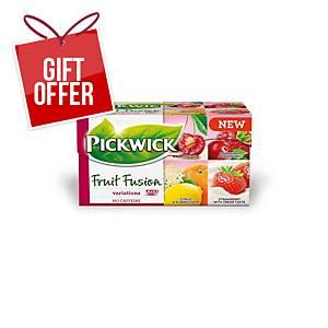 PICKWICK TEA 40G FRUIT VARIATIONS