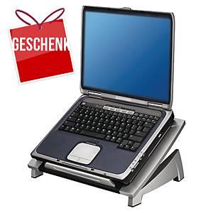 Laptopträger Fellowes 8032001 Office Suites, schwarz/silber