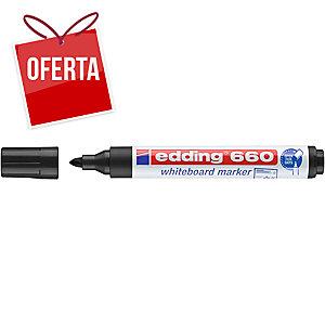 Marcador para quadro branco EDDING 660 cor preta