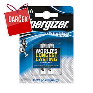 Batérie Energizer Ultimate Lithium, LR3/AAA, 2 kusy v balení