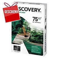 Kopierpapier Discovery A4, 75 g/m2, FSC, Packung à 500 Blatt