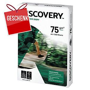 Discovery Papier, A4, 75 g/m², weiss, ökologisch, 500 Blatt