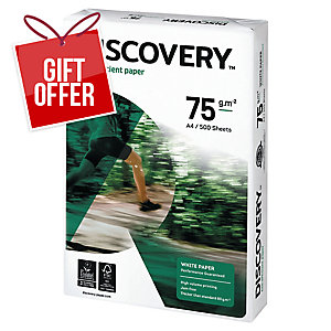 Discovery Paper A4 75Gsm White - 1Ream (500 Sheets)
