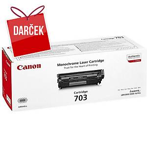 Canon laserový toner CRG-703 (7616A005), čierny