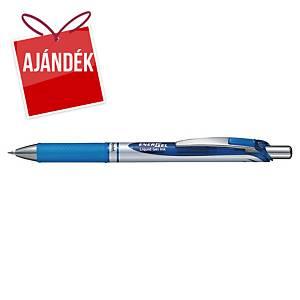 Pentel Energel BLP-77 zselés toll, nyomógombos, 0,7 mm, kék