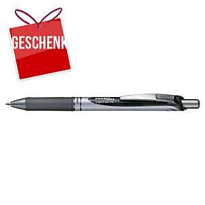 Pentel Energel BL77 Gelschreiber, mit Druckmechanik, 0,7 mm, schwarz