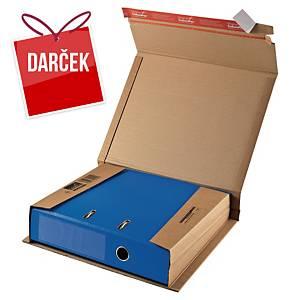 Expedičná krabica ColomPac®, 320 x 290 x 35 až 80 mm, hnedá