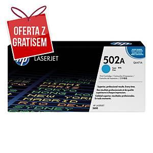 Toner HP 502A Q6471A cyan
