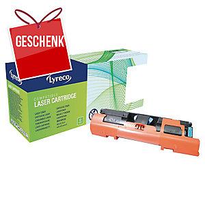 Toner Lyreco kompatibel mit HP Q3961A/ Canon 701 C, Reichweite: 4.000 S, cyan