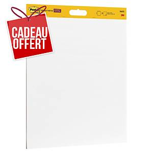 Paperboard adhésif Post-it Super Sticky - 50,8 x 58,4 cm - 2 x 20 feuilles
