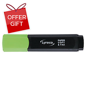 LYRECO HIGHLIGHTER - GREEN