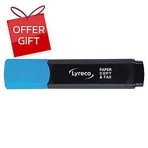 LYRECO HIGHLIGHTER - BLUE