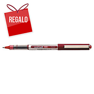 Roller de tinta líquida Uni-ball Eye - rojo