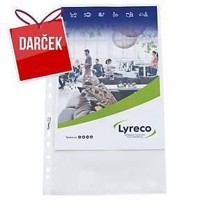 Euroobal matný Lyreco A4 - 80 mikrónov, balenie 100 kusov