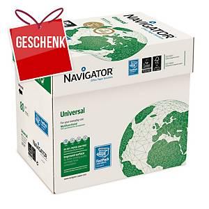 Navigator Universal Papier, A4, 80g, 1 Packung mit 2500 Blatt
