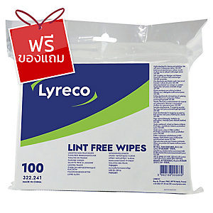 ลีเรคโก แผ่นทำความสะอาดบรรจุ 100แผ่น