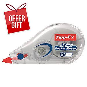 Tipp-Ex Mini Pocket Mouse Correction Tape Each