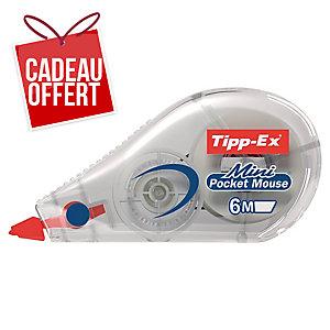 ROLLER DE CORRECTION TIPP-EX MINI POCKET MOUSE 6M X 5 MM CORPS TRANSPARENT