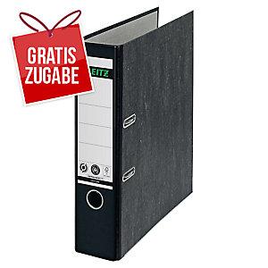 Ordner Leitz 1080, A4, Rückenbreite 80mm, schwarz