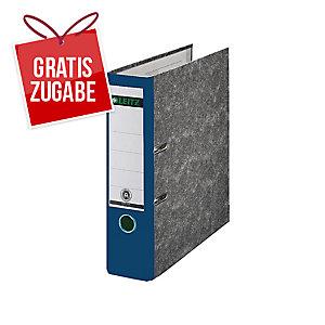 Ordner Leitz 1080, A4, Rückenbreite 80mm, blau