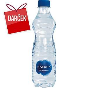 Pramenitá voda Bonaqua, neperlivá, 0,5 l, balenie 12 kusov