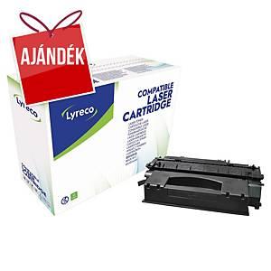 Lyreco kompatibilis toner HP 49X (Q5949X)/Canon CRG708H (0917B002), fekete