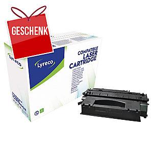 Toner Lyreco kompatibel mit HP Q5949X/ Canon 708 H, Reichweite: 6.000 S, schwarz