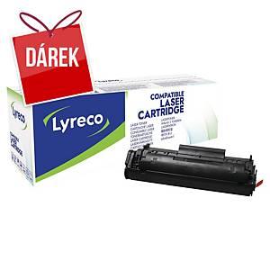 LYRECO kompatibilní laserový toner HP 12A (Q2612A), černý